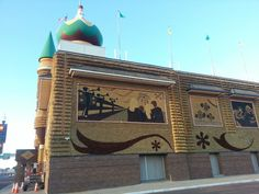 The Corn Palace in Mitchell,  South Dakota on 9-13-2013. Photo by Cindy McMullen.