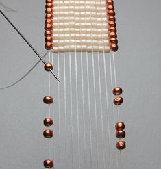 Beads Beading Beaded, with Erin Simonetti - I've got to try this technique!