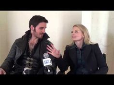 TVFanatic ... Once Upon a Time Set Scoop: Captain Swan, Evil Zelena & More!