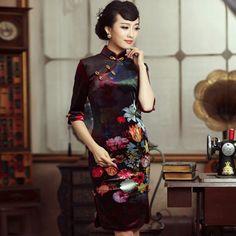 Cheongsam - chinese dressing gowns