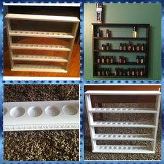 Essential Oil Display/Shelf by displayyourshelf on Etsy, $80.00