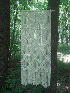 Large Macrame wall hanging Tapestry macrame Wall art Wall