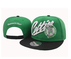 d8206b31e2e wholesale snapbacks hats NBA Boston Celtics Snapback Hats Green Black