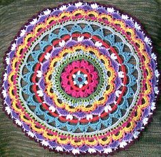 crochet mandalas - Google Search