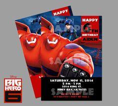 Printable Disney Big Hero 6  Party Movie Theme by PeekaOwl on Etsy
