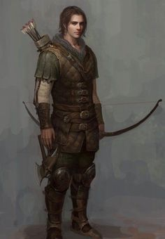 a collection of inspiration for settings, npcs, and pcs for my sci-fi and fantasy rpg games. Fantasy Warrior, Fantasy Male, Fantasy Rpg, Medieval Fantasy, Medieval Archer, Fantasy Story, Fantasy Character Design, Character Creation, Character Concept