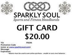 Sparkly Soul Giveaway!