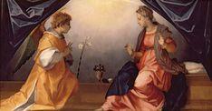 Andrea del Sarto (1486-1530) - Annunciazione - 1528 - Olio su tavola - Firenze, Galleria Palatina