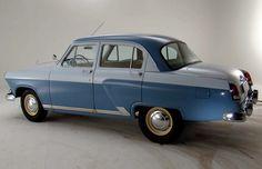 Седан ГАЗ-21 «Волга» первой серии, 1956–1958. СССР