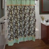 Found it at Wayfair - Jacquelyn Polyester Shower Curtain