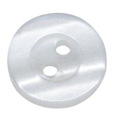 HOUSWEETY 300PCs White 2 Holes Round Resin Sewing Buttons Scrapbooking 11mm(3/8') * Read more at the image link.