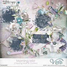 Morning Mist [Clipping Mask & Clusters - All in one] by Vero