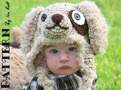 PATTERN  Gromit Puppy Hat  Crochet PDF Pattern by FashionPatterns, $6.50
