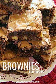 Walnut Brownie Recipe, Best Brownie Recipe, My Best Recipe, Brownie Recipes, Blondie Brownies, Best Brownies, Fall Recipes, My Recipes, Chocolate Morsels