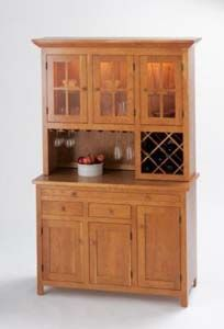 Cherry Wine Hutch