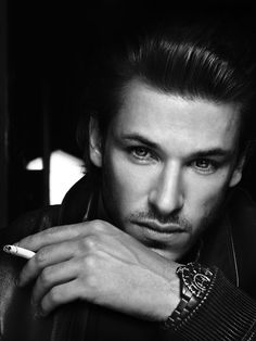 Gaspard Ulliel (1984) - French actor and model. Photo by Anthony Meyer for The Laterals x August Man