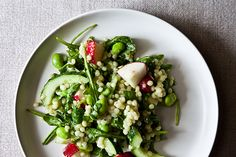 A bright, summery, and portable couscous salad #Picnicking #Eating #SummerOfDoing