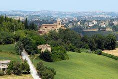 Panoramica sul convento francescano del XI° sec #marcafermana #massafermana #fermo #marche