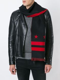 Givenchy stars and stripes print scarf