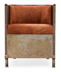 Design Mats Theselius, Sweden, 1994, etched iron and suede #design