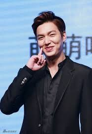 "awesome Lee min ho for "" Bounty Hunters "" press conference ..!!!"