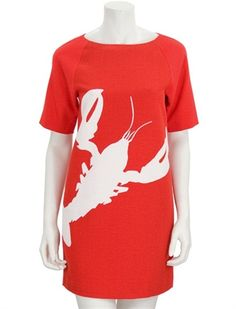 lobster easy dress by Tibi