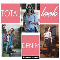 ¡Jueves! apuesta por un total denim look y róbate todas las miradas con lo mejor en #Moda #Diseño y #Estilo