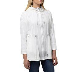Puma White Evolution Ultralight Windbreaker Jacket