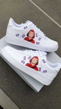 Browse and buy custom sneakers from Nike, Adidas, Vans, and more created by independent artists. Hype Shoes, On Shoes, Shoes Sneakers, Shoes Style, Custom Painted Shoes, Custom Shoes, Custom Sneakers, Jordan Shoes Girls, Girls Shoes