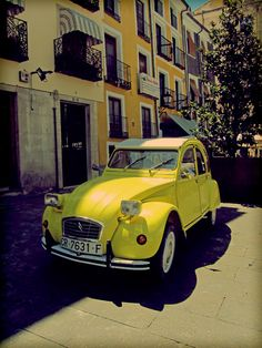Citroen 2cv-  This car was used in the James Bond film ( For Your Eyes Only ) and was a great film in my opinion.