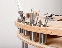 Das WerkBrett - Entwurf eines Goldschmiedetisches - Fakultät Gestaltung an der Hochschule Wismar