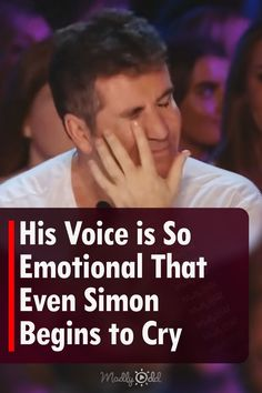 Some performances are so emotional, they don't pull on your heart-strings, they yank. This is one of them. #AGT #SimonCowell #Singing Talent Show, America's Got Talent, Simon Cowell, Show Video, Make You Cry, American Idol, Night Club, The Voice, Crying