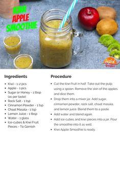 Kiwi Apple Smoothie | Tasted Recipes