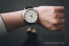Oozoo Timepieces - Armbanduhr aus der Vintage Series Shops, Daniel Wellington, Watches, Leather, Vintage, Accessories, Fashion, Watches Online, Bracelet Watch