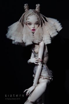 New doll by the Popovy Sisters. Exclusively made for WhoYouAre showroom, Hollywood. 10/2015