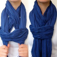 Learn how to tie scarf on neck with these clever tips and tricks. You will love … Learn how to tie scarf on neck with these clever tips and tricks. You will love all the different options and we have lots of charts to show you how. Look Fashion, Diy Fashion, Ideias Fashion, Fashion Beauty, Autumn Fashion, Womens Fashion, Fashion Tips, 1950s Fashion, Unique Fashion