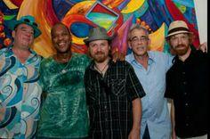 New Orleans Music / Musicians :  Jeff Waltkins, Mean Willie Green, Jake Eckert, Reggie  Scanlan, and C R Gruver  :   The New Orleans Suspects!