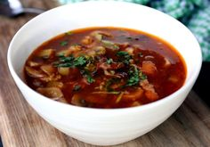 skinnymixer's Bacon & Vegetable Soup