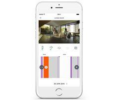 Das Überwachungsvideo der Myfox Security Cam können Sie sich live auf dem Smartphone ansehen und per bidirektionaler Audio-Kommunikation sogar mit dem Eindringling sprechen.