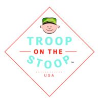 """From Mom's Don't Sleep article - """"Troop on the Stoop was created by a combat veteran who was working at a children's hospital after he was honorably discharged from the U.S. Army. He got the idea for this product while watching many children have to deal with the separation of their deployed loved one."""" - http://momsdontsleep.com/help-kids-with-deployment/"""