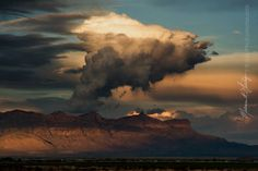 Saturday evening in west Texas, is never short on beautiful scenery. These clouds building over the Guadalupe Mountains caught my attention and held it for a while.