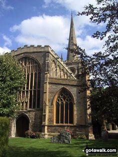 C A B Stratford Upon Avon Holy Trinity Church (Shakespear's burial place), Warwickshire, England ...