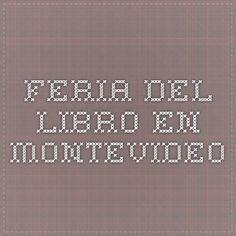 Feria del Libro en Montevideo