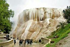OMG!!!!! Hot waterfall-Gelma-Algeria-