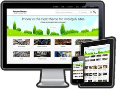 Popular #Fiverr Clone! Open your very own Micro Jobs web site powered by WordPress frame work!