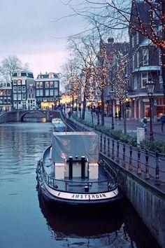 Amsterdam, The Netherlands photo via darrell