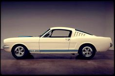 The Shelby GT 350, a version of a Ford Mustang sports car developed by the American auto racer and car designer Carroll Shelby, was launched on January 27, 1965. The Shelby, which featured a 306 horsepower V-8 engine, remained in production through the end of the 1960s and today is a valuable collector's item.