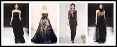 black evening dresses 2012