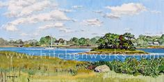 COLE'S 2: This is Cole's River in Swansea, MA looking northward on a beautiful September day.