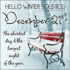 Winter solstice, December 21. The shortest day and the longest night of the year. Winter Szenen, I Love Winter, Winter Magic, Winter Season, Winter Park, Winter 2017, Winter Travel, Winter White, Snow White